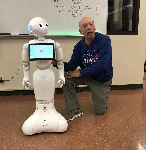 Bob Barboza, Pepper, Pepper the robot, Barboza Space Center
