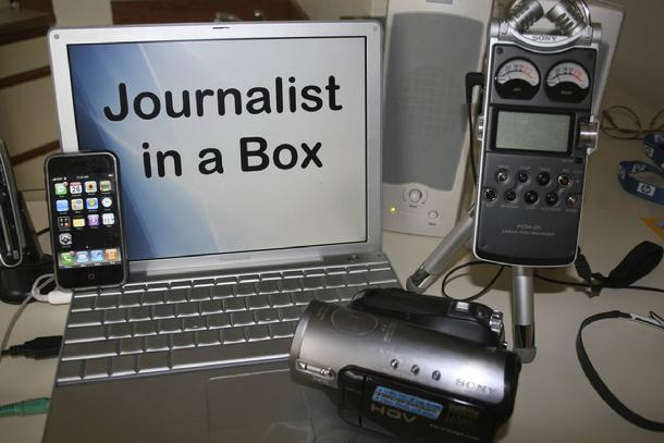 Journalist-in-a Box
