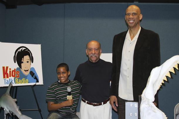 Kids Talk Radio, Stone Houston, Bob Barboza, Kareem Abdul-Jabbar