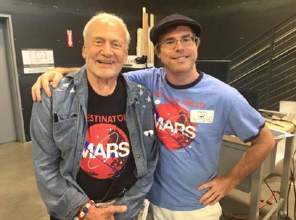 Buzz Aldrin and Andy Weir, Occupy Mars